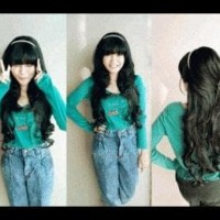 Hair Clip Seven Revo Biglayer Curly