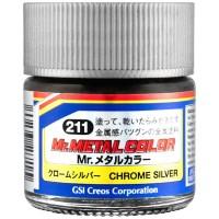 PAINT - MR METAL COLOR MC-211Y CHROME SILVER
