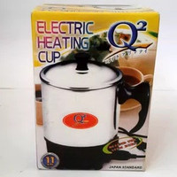 Mug Elektrik Fleco 11 cm/ Pemanas Air/ Elektrik Heating/ Teko Listrik