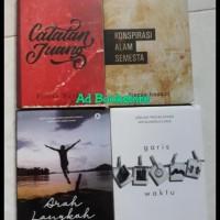 Paket 4 Novel Fiersa Besari - Arah Langkah. Garis Waktu. Catatan Juang