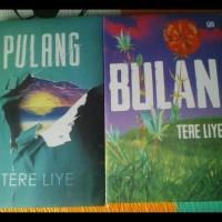 Paket 2 Novel Tere Liye ( Pulang, Bulan )