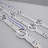 Backlight BL LED 3 Volt Cekung 7 Kancing Led