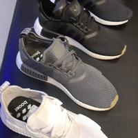 8fc819f0d Adidas NMD R1 Black Grey White NEW RELEASE! 100% ORIGINAL