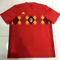 Best JErsey Baju Kaos Belgia Home Belgium Adidas World Cup 2018 Grade