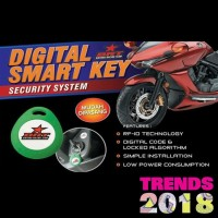 Alarm Motor Yamaha Mio J Fi i-Max Digital Smart Key