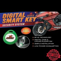 Alarm Motor Suzuki Shogun 125 i-Max Digital Smart Key