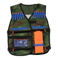 Rompi Tactical Vest Bracer Quick Reload for Nerf Gun Pe Limited