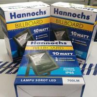 LAMPU SOROT LED HANNOCHS BILLBOARD 10W UNTUK TAMAN ADVERTISING 10WATT