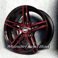 Velg Mobil Zen CV5 Ring 15x7 pcd 5x114.3 Pelek Ban Racing JDM Elegan