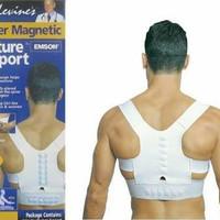 Safe belt power magnetic / alat terapi pinggang