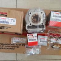Blok seher paket piston komplit ori Yamaha Mio sporty Smile