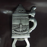 Magnet kulkas metal souvenir oleh oleh negara Jerman - Germany