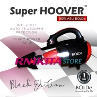 SUPER HOOVER BOLDe BLACK COLOR EDITION CYCLONE VACUUM CLEANER 2 IN 1