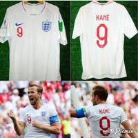 JERSEY INGGRIS ENGLAND HOME WORLD CUP 2018 PLUS NAMSET GRADE ORI OFFI
