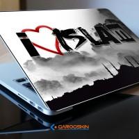 Garskin Notebook Lenovo 10 Inch iLove Islam Custom (Luar Saja)