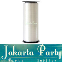 Pita Balon Putih / Pita Ribbon / Pita Dekorasi - Jakarta Party