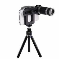 Telescope Lensa Pembesar Teleskop/Teropong Zoom Kamera HP 8x + TRIPOD
