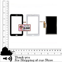 1 SET LCD Touchscreen Tab 3 V 3V SM-T116 T116nu Layar Original Samsung