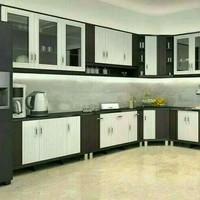 Lemari dapur kitchen set atas bawah