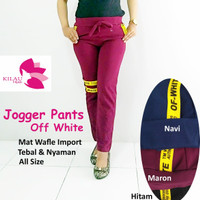 Jogger pAnts off white