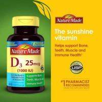 Nature Made Vitamin D3 1000 IU.
