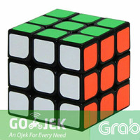 Rubik 3x3 YongJun Guanlong Magic Cube 3x3x3 Speed Cube BlackBase