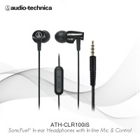 Special Price Audio-Technica earphone ATH-CLR100iS BK ( BLACK )