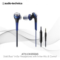 Special Price Audio-Technica ATH-CKS550iS RD ( EX ) BLACK / RED
