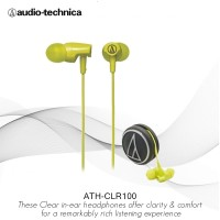 Special Price Audio-Technica CLR100 LG InEar Headphone - Lime Green
