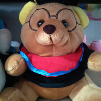 Jual Boneka Wisuda Murah teddy bear doraemon PANDA lucu 25 cm+KARTU UCAPAN Murah