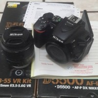 kamera digital camera vlog Nikon D5500 KIT AF P 18 55mm VR resmi Alta