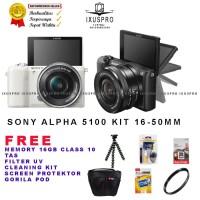 kamera digital camera vlog Sony A5100 kit 16 50 OSS kamera Sony Alpha