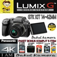 kamera digital camera vlog PANASONIC LUMIX G7K Kit 14 42mm PAKET SUPE