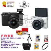 kamera digital camera vlog Canon eos M10 kit 15 45 is stm bergaransi