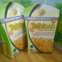Jual Talbinah 400 gr free 40 Orginal tepung gandum Murah