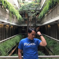Kaos Flores Lengan Pendek Polos Destinasi Indonesia Travel Backpacker