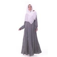 Terbaru 2018 Gamis Syar'I Nibras Ns 23 Marun Putih Terlaris