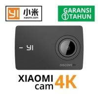 Kamera XIAOMI YI DISCOVERY ACTION CAM 4K + Set Tongsis + Waterproof