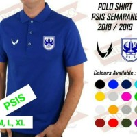 POLO SHIRT PSIS SEMARANG OFFICIAL 2018 2019
