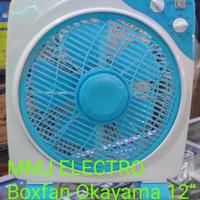 Kipas Angin Meja/Boxfan Okayama 12 inch