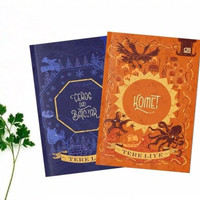 Novel Paket 2 Buku KOMET - CEROS DAN BATOZAR BY TERE LIYE