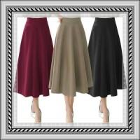 Molly Maxi Flare Skirt/Rok Panjang/Rok Wanita/Rok Ngembang