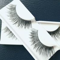 Bulu mata atas natural (bulumata eyelashes fake lashes) palsu import