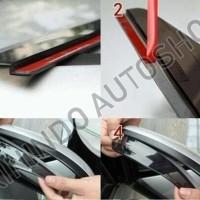 Mika Talang Air Pelindung Spion Mobil Universal Corolla Altis