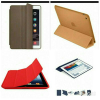 iPad 2 / 3 / 4 Flipshell Smart Cover Leather Case With Magnetic Casing