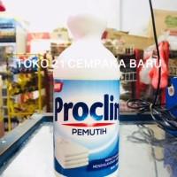 Proclin Pemutih Cair Botol 1000ml   Noda Pakaian Baju 1000 ml 1 Liter