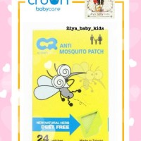 Crown Anti Mosquito Patch / Stiker anti nyamuk
