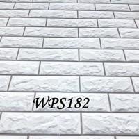 WPS182 GREY STONE BATU BATA WALPAPER-DINDING WALL PAPER STIKER