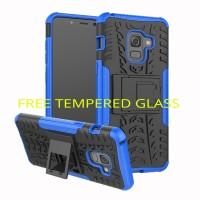 Rugged Armor Samsung J2 PRO 2018/ LG Q6 Soft Case Kick Stand Casing