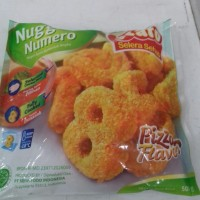 Hato nuget number / nuget ayam number rasa piza/ nuget
